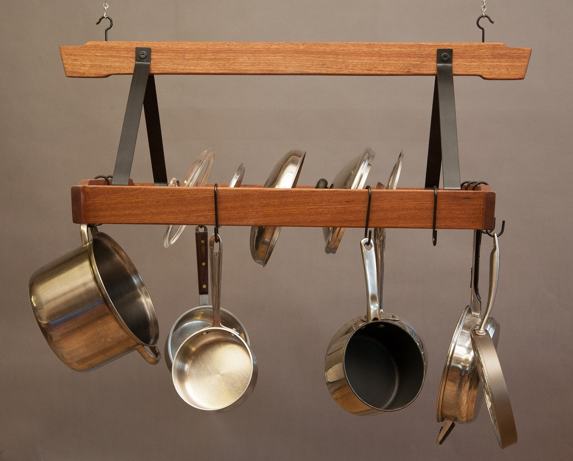 Kitchen Pot Rack How To Hang Your Pot Rack Garden Structures